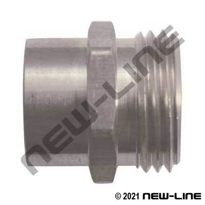 Stainless Steel Female NPT X Male GHT