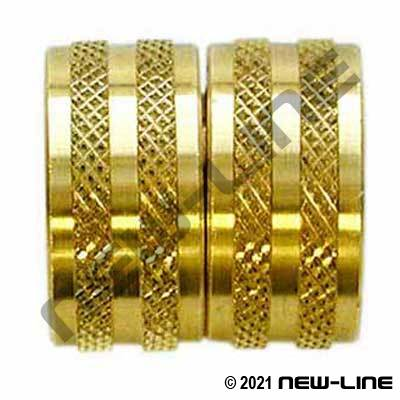 Brass Female GHT x Female GHT Swivel