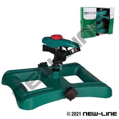 Polypropylene Impulse Sprinkler Sled - 5800 Sq/Ft