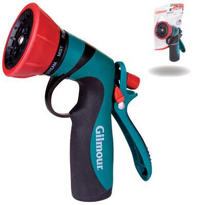 Gilmour Brand Insulated Adjustable 7 -Pattern Nozzle