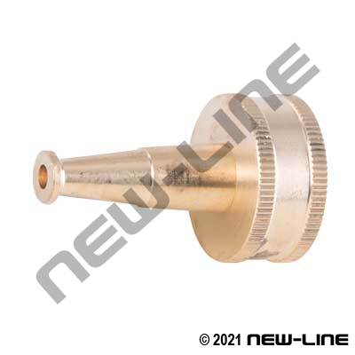 Brass Garden Hose Thread Plain Sweeper Nozzle