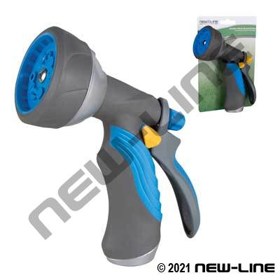 Hybrid 10-Pattern Nozzle W/ Insulated Grip