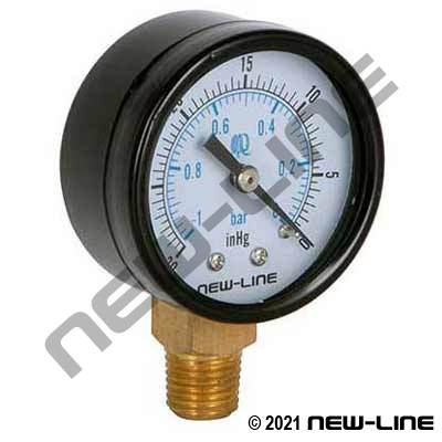 Dry Vacuum Gauge, Lower Mount