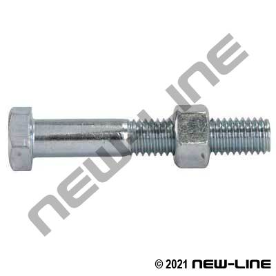 Replacement Bolt&Nut For Boss Ground Joint InterlockingClamp