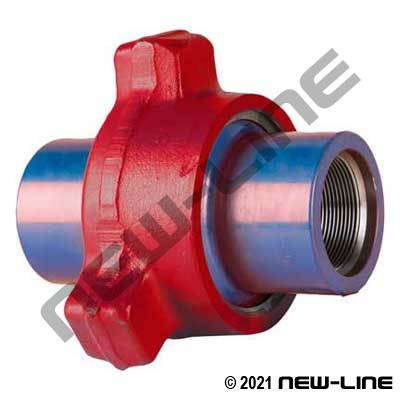 Fig 1002 Hammer Union (Red/Blue Sub)