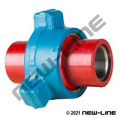 Fig 1502 Hammer Union (Blue/Red Sub)