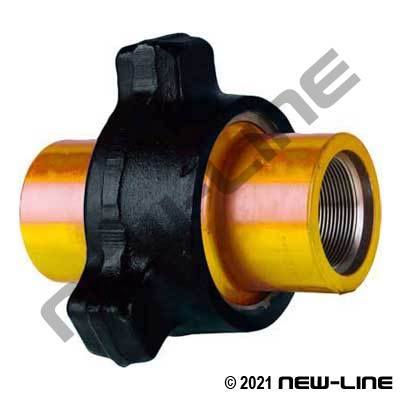 Fig 100 Hammer Union (Black/Yelow Sub)