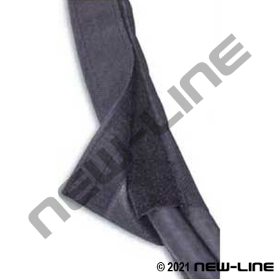 Black Velcro Bundling Sleeve - Generic Brand  sc 1 st  New-Line Hose and Fittings & Hydraulic Hose Heavy Duty Sleeves PetroWrap Velcro Straps