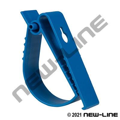 Hose / Cable Horizontal Safety Hanger Clip - Wall/Belt Mount