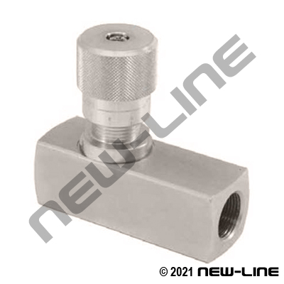 NPT Stainless Steel High Pressure Flow Control Valve
