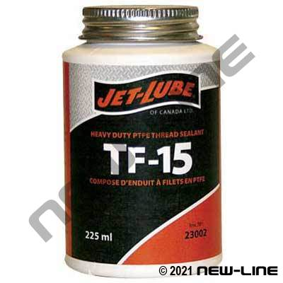 225Ml Jet-Lube TF-15 PTFE Sealant with Brush