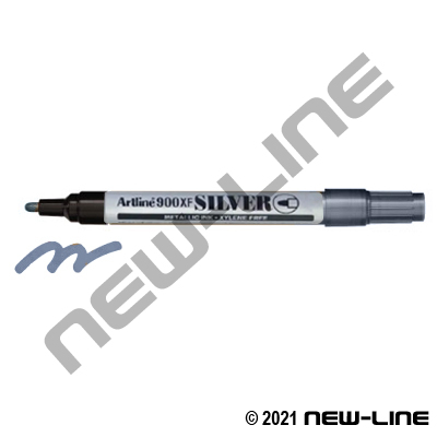 Silver Jiffy EK900 Artline Metallic Ink Marker