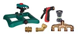 Garden Hose Nozzles & Fittings