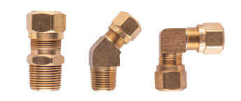 Air Brake DOT Compression & Airshift Fittings For Nylon Tube