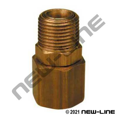 NPT Straight In-Line Light Duty Swivel Joint