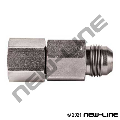 Male JIC Barrel X Female NPT Live Swivel