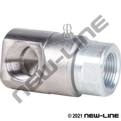 Heavy Duty Female NPT x Female NPT 90° Live Swivel