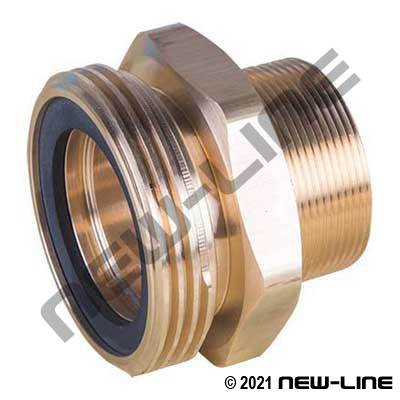 Male Acme x Male NPT (Brass or Plated Steel)