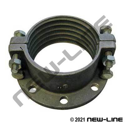 Domestic Brand Aluminum Split Flange Coupling
