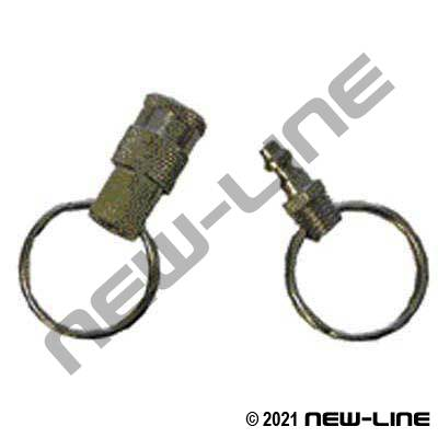 Quick Coupler Key Chain Set