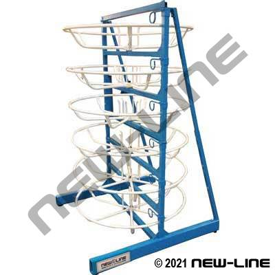 Hose Coil Dispensing Rack