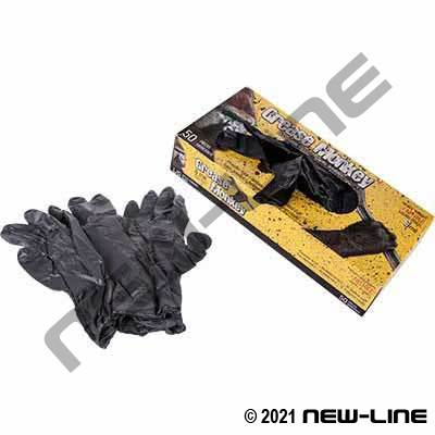Grease Monkey Nitrile Powderless Disposable Gloves