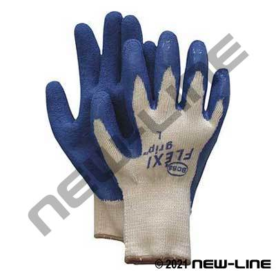 Flexi-Grip Blue Latex Coated Glove