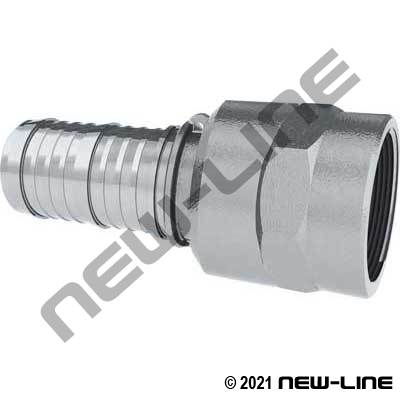 Aluminum Swivel Female NPT x Hose Barb