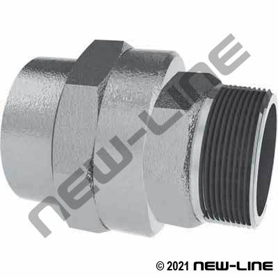 Aluminum Swivel Male NPT x Female NPT