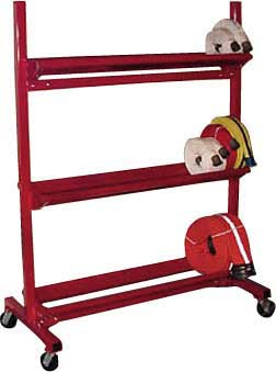 2-Tier Fire Hose Storage Rack