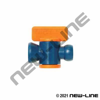 Modular Tubing In-Line Ball Valve