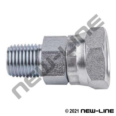 Male NPT X Female NPSM Straight Swivel Coupling