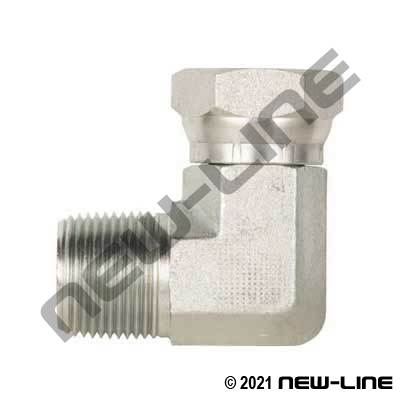 Male NPT X Female NPSM Swivel 90°