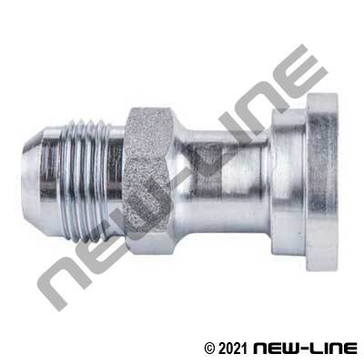 Male JIC x C61 Flange Straight