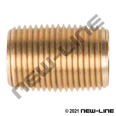 Brass Pipe Close Nipple