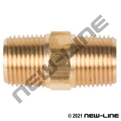 Brass Hex Pipe Nipple