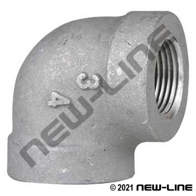 Aluminum 90° NPT Female Elbow
