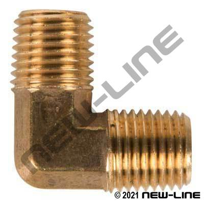 Brass 90° Male Elbow