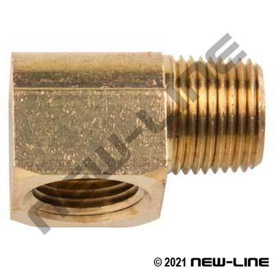 Brass Extruded 90° Street Elbow (Standard/Common)