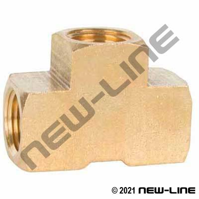 Brass Extruded Tee (Standard/Common)