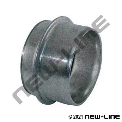Travis Pattern Ringlock Weld-On Male Coupler