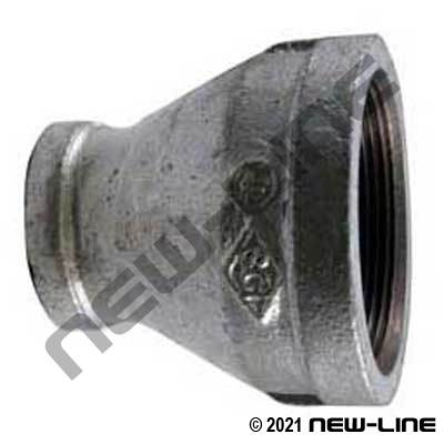 Galvanized Malleable Iron Reducer Coupling