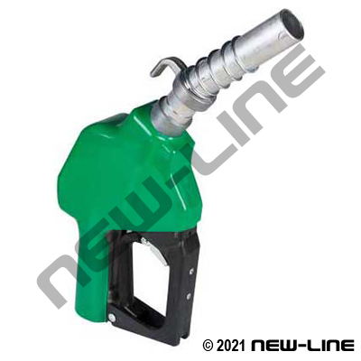 OffRoad Green Auto Farm Fuel Nozzle /Hold Open Rack (Non UL)