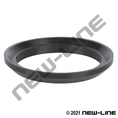 Black Buna Acme Bevel Seat Gasket