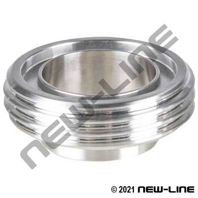 304 Stainless Steel Long Male DIN40 Weld Ferrule
