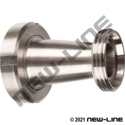 304 Stainless Male DIN x Female Liner Concentric Reducer
