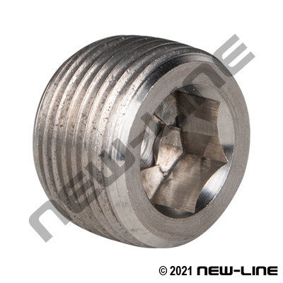 Stainless Steel NPT Countersunk Plug