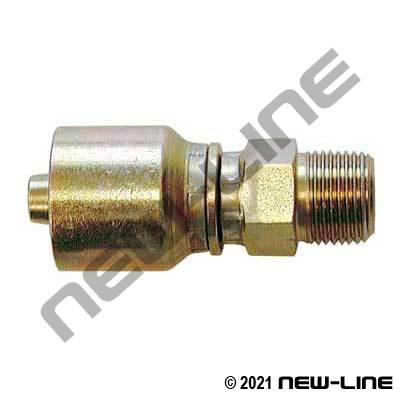 Pressure Washer Crimp X Male NPT Swivel