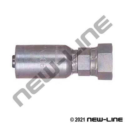 Stainless Crimp x Female NPSM Swivel