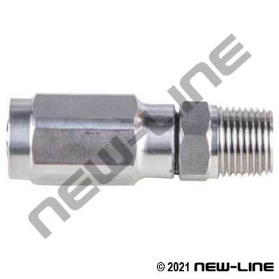 R2AT Stainless Steel Field Attachable x Male NPT